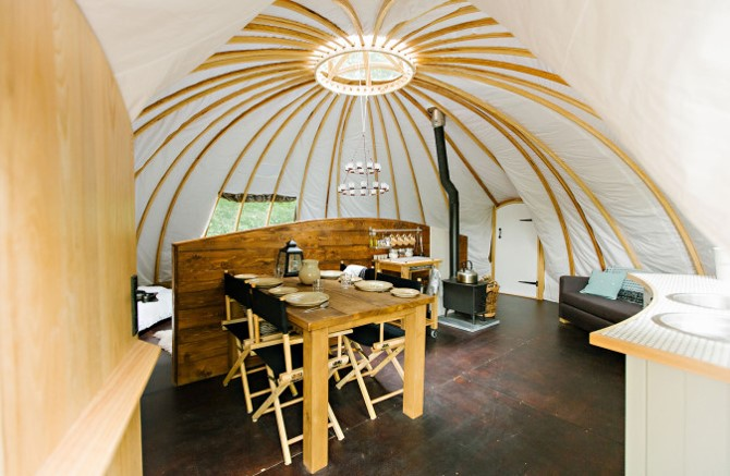 Penhein Glamping offers outdoor holidays with comfort and style